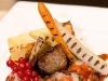 Canon, Confit and Rack of Lamb served with Pomme Dauphinoise, Char-Grilled Carrots and Salsifi